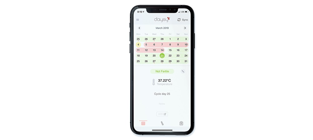 Fertility calendar - Track your cycle in a natural way